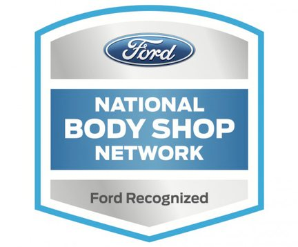 ford certified collision repair logo